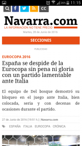 Article Navarra without AMP